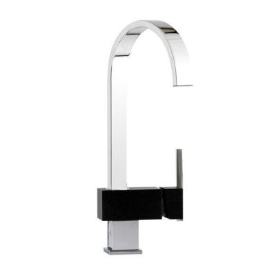 Mayfair KIT261 Edge Black Kitchen Mixer Tap Black