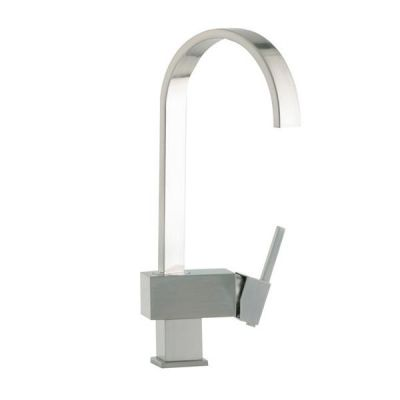 Mayfair KIT263 Edge Brushed Kitchen Mixer Tap Brushed Nickel