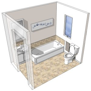 Testing - How to replace a bathtub in a small bathroom