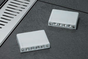 aco shower channel light line blocks