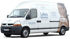 Lakes Shower Van Delivery
