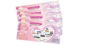 This shower door qualifies for �40.00 worth of Love2Shop vouchers