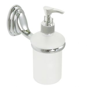 Amber Liquid Soap Dispenser