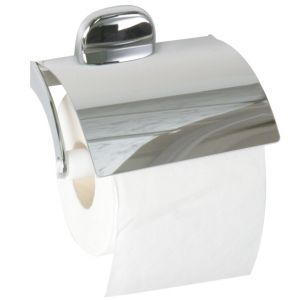 Nova Toilet Roll Holder with Lid