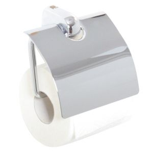 Metasoft Toilet Roll Holder Extra Sturdy with Soft Close Lid