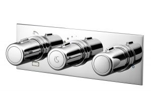 Ideal Standard Chrome Attitude Thermostatic Shower Mixer - A5603AA