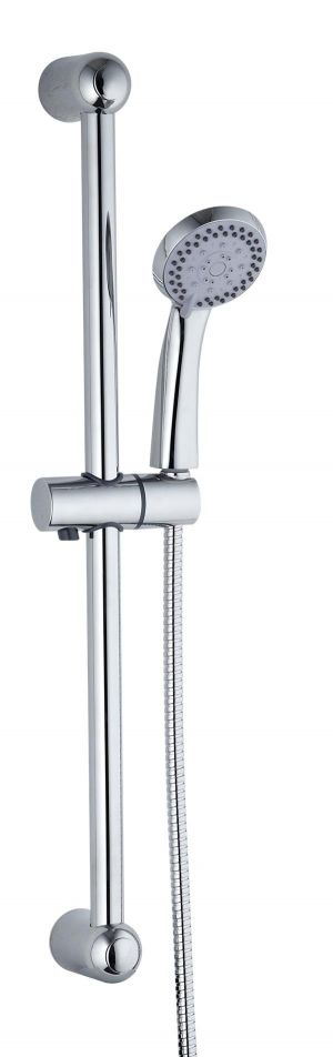 Mayfair Amazon Chrome Dual Handle Concealed Thermostatic Shower (incl Diverter) and Slide Kit AMA400