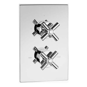 Avant Concealed Thermostatic Shower Valve With 2 Way Diverter (ABS Plate)