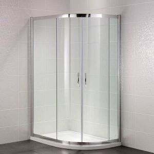 April Identiti2 1200 x 800mm Double Door Offset Quadrant