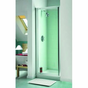 Aqualux Aquarius Shower Pivot Door 900mm