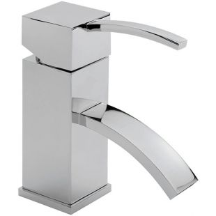 Arke Monobloc Basin Mixer With Pop-up Waste