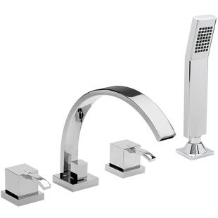 Arke 4 Hole Bath Filler