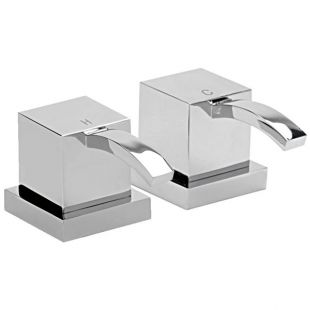 "Arke 1/2"" Deck Mounted Side Valves (Pair)"