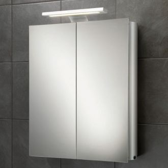 Atomic Mirrored Bathroom Cabinet With Lights Aluminium Bathroom