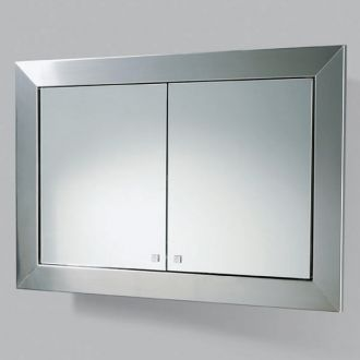 Bathroom Furniture Vanities on Mirrored Bathroom Cabinets With Lights   1062200   By Hib   Bathrooms