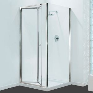 Coram Shower Enclosure - GB Bifold Door 760mm