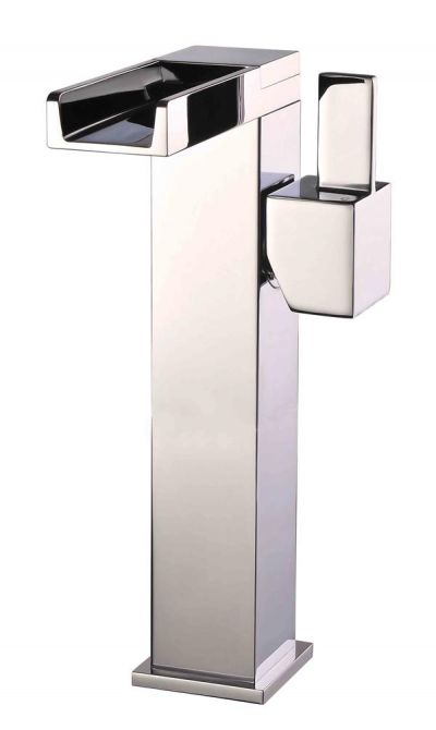 Mayfair Dream Chrome Waterfall Freestanding Monoblock Basin Mixer Tap DRM029