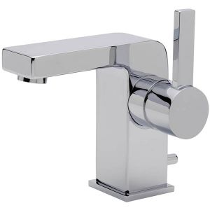 Evolution Fixed Spout Monobloc Basin Mixer with Pop-up Waste