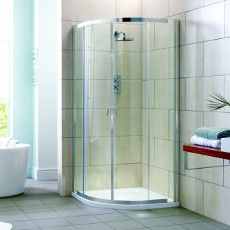 Aquadart Elation Double Door Quadrant 900mm