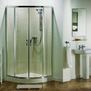 Aqualux Elite Modern Shower Quadrant Enclosure 800mm x 800mm