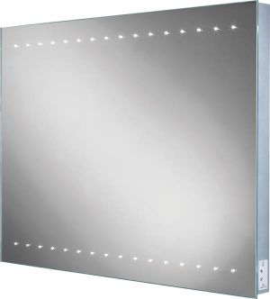 HiB Epic LED Steam-Free Bathroom Mirror with Charging Socket