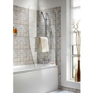 Ellbee Profile Plus Excel Bath Screen with Rise and Fall Hinge 1000mm
