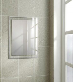 HiB Georgia 60 Non-illuminated Bathroom Mirror