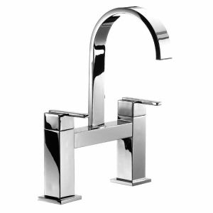 Ice Fall Lever Head Bath Filler High Spout