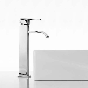 Mayfair Taps - Ice Fall Lever Freestanding Basin Tap Mono (M)