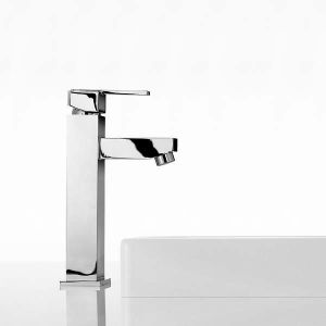 Mayfair Taps - Ice Quad Lever Freestanding Basin Tap Mono (S)