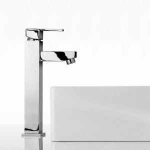 Mayfair Taps - Ice Quad Lever Freestanding Basin Tap Mono (M)