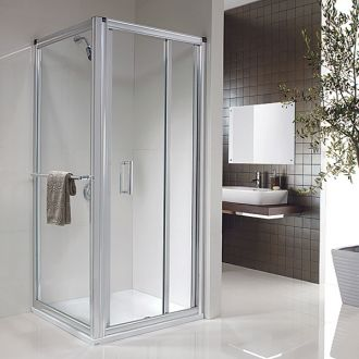 Twyford Bathrooms - 800mm Hydr8 In-Fold Door