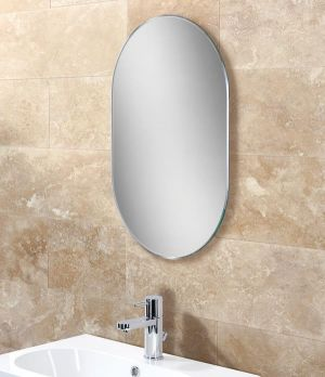 HiB Jessica Non-illuminated Bathroom Mirror