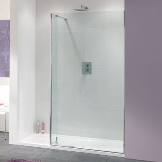 10mm Glass Lakes Bathrooms Coastline Collection Nice Shower Screen 1100mm