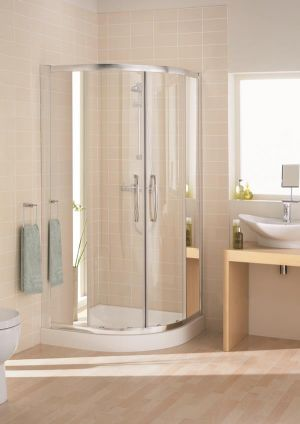 Lakes Mirror Quadrant 1000mm Shower Enclosure