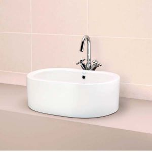 Lucca Counter Top Vanity by Impulse. Supplied by Midland Bathroom Distributors.