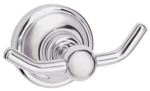 Mayfair Matrix Chrome Finish Brass Robe Hook MAT408