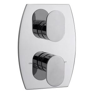 Metro Concealed Thermostatic Shower Valve with 2 way Diverter