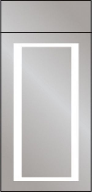Minnesota - Mirrored Bathroom Cabinet with Lights