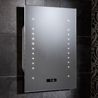 IP Rating Electrical Guide - IP44 rated mirror for the bathroom by HIB