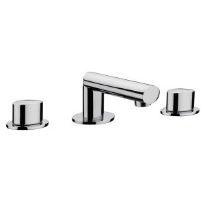 Oveta 3 Hole Basin Mixer (with pop-up waste)