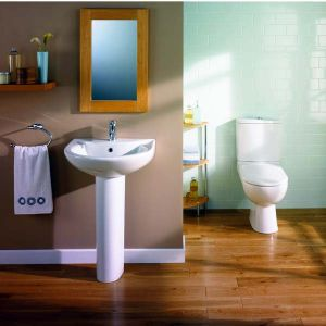 Bathroom sanitaryware from Impulse, supplied by MBD Bathrooms