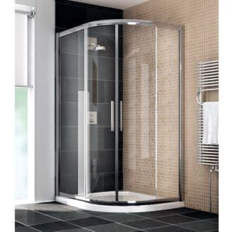 Manhattan Shower Enclosure 900 x 800mm Duo Offset Quad