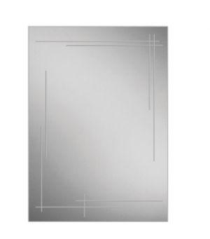 HiB Opus Non-illuminated Bathroom Mirror