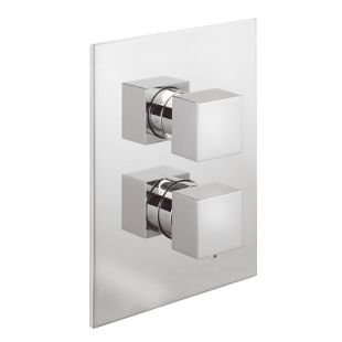 Pablo Concealed Thermostatic Shower Valve with 2 way Diverter