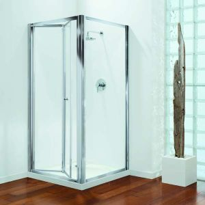 760mm Coram Premier Shower Bi Fold Door