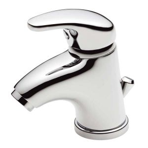 Basin Tap Mono - Prestige Cloakroom Monobloc Mixer with Pop-up Waste