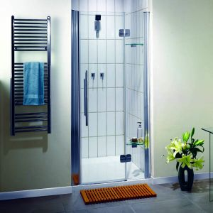900mm Aqualux Pura Shower Pivot Door
