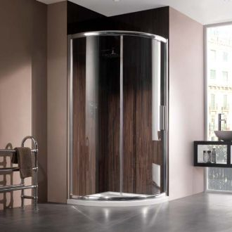 Manhattan Shower Enclosure 800 x 800mm Quadrant Uno