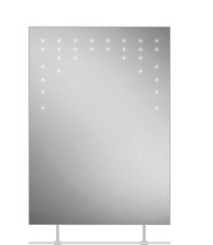 HiB Rain LED Steam-Free Bathroom Mirror with Charging Socket